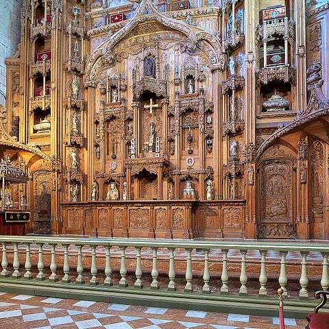 Capilla de las Reliquias en Santiago de Compostela