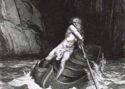 Caronte, el barquero infernal