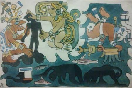 El mito de la creación según los mayas