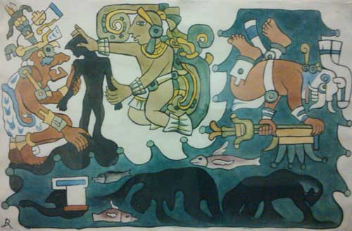 La Creación Según La Mitología Maya