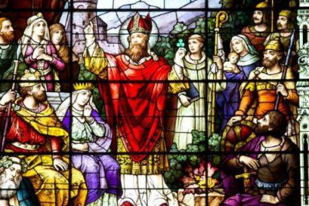 Vereticus, San Patricio y los hombres-lobo
