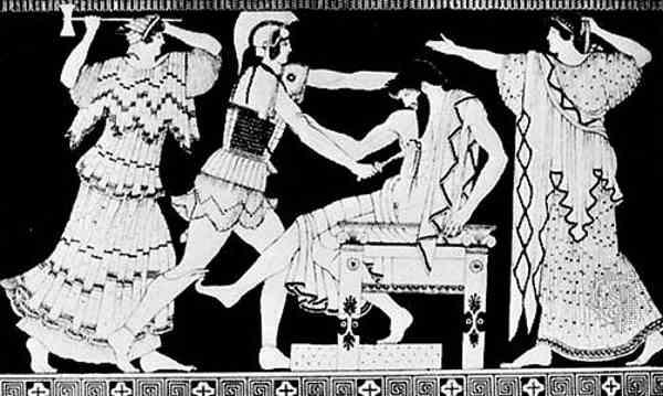 Electra y Orestes