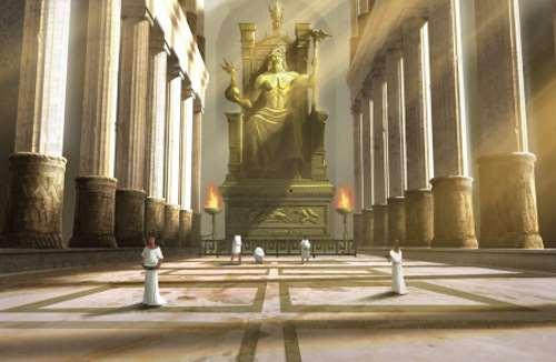 Estatua Zeus en Olimpia