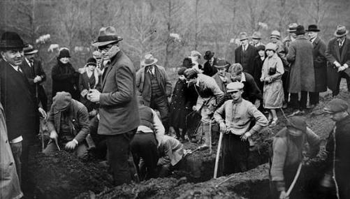 Excavación en Glozel