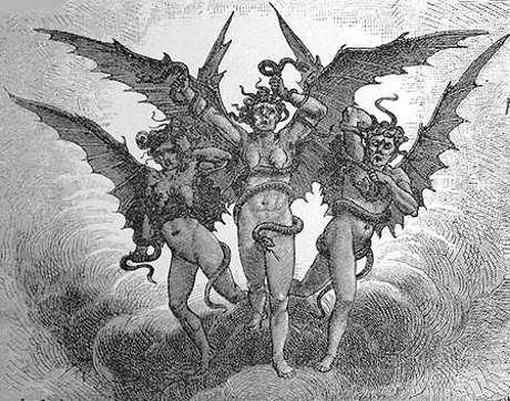 Furias en la mitologia