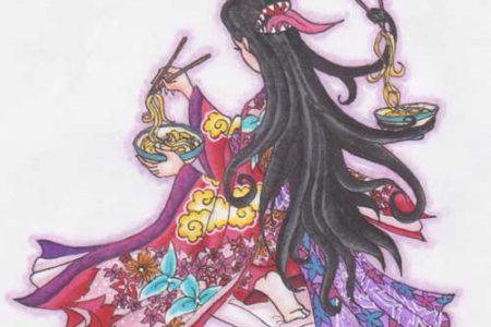 Futakuchi-Onna, la mujer de dos bocas