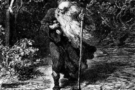 El Judío Errante, leyenda medieval