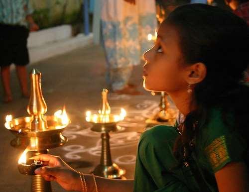 Luces Diwali