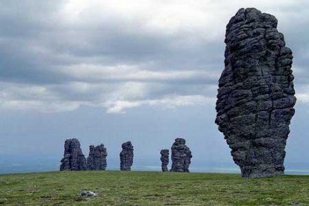 Los gigantes de los Urales, leyenda de Rusia
