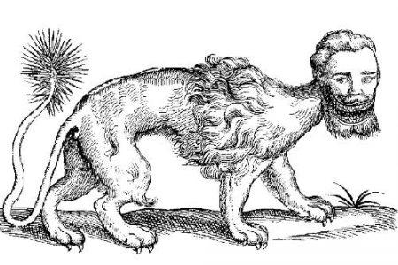 La Mantícora, criatura mitológica