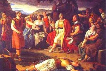 El muérdago y la muerte de Balder