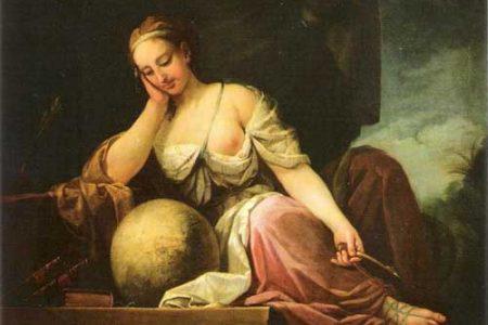 Urania, la Musa griega de la Astronomía