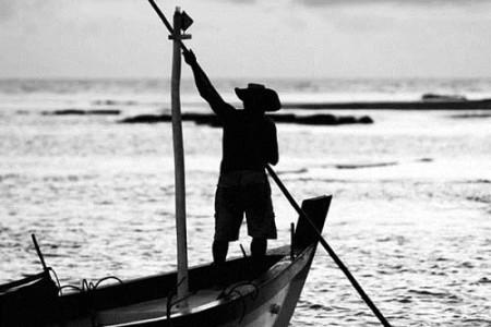 El Roble y el Pescador, leyenda de Albania
