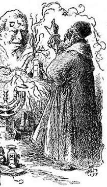 Rabino ante el Golem