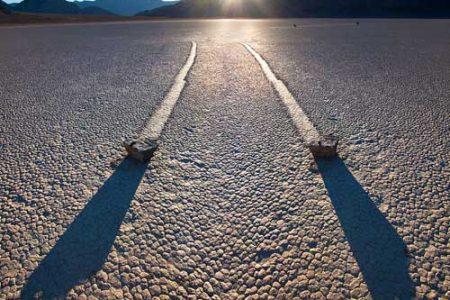 Racetrack Playa y sus piedras andantes