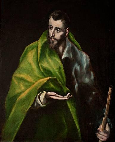 Santiago el Mayor - El Greco