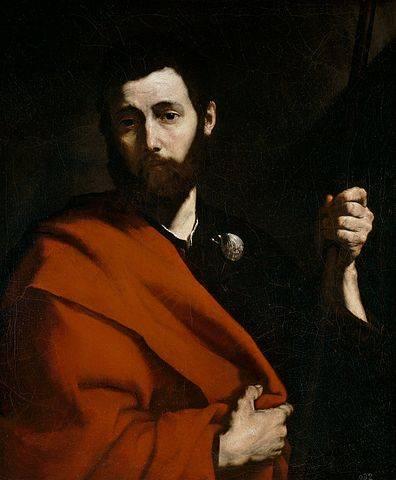 Santiago el Mayor pintado por Jose Ribera