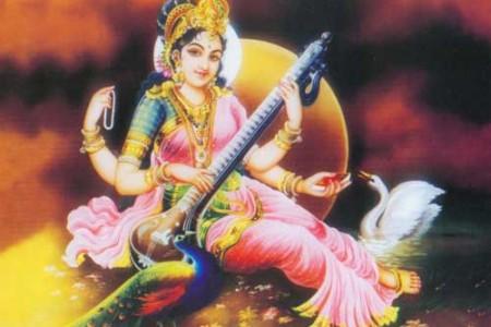 Sarasvati, la diosa hindú del conocimiento
