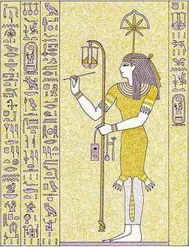 Seshat diosa egipcia de los libros