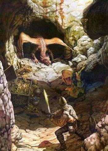 Sigfrido y el dragón