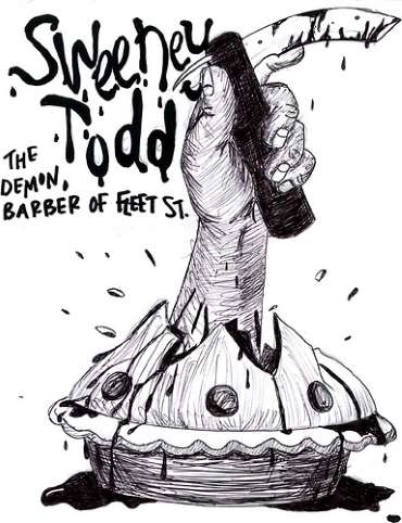 Sweeney Todd barbero demoniaco