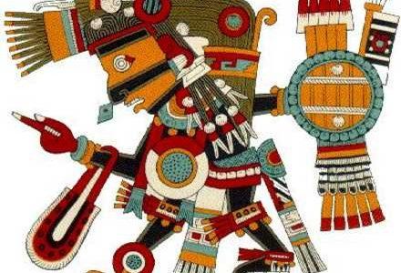 Tezcatlipoca, el dios del espejo humeante
