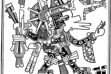 Tláloc, el dios azteca de la lluvia