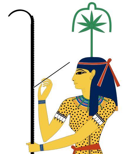 Seshat, diosa egipcia protectora de bibliotecas