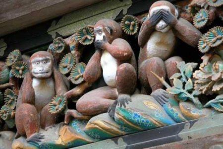 Los tres Monos Sabios y su significado