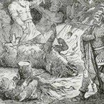 Tyr, hijo de Odín y dios del valor y la guerra