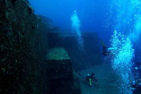 Las misteriosas ruinas submarinas de Yonaguni