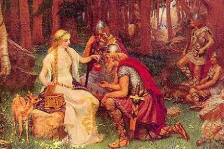 Los Æsir de la mitología nórdica