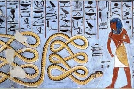 Apofis, la serpiente que rompe el orden cósmico