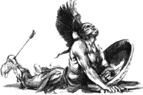 Resultado de imagen de fotos del mitos del talon de aquiles