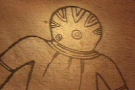 Ovnis en pinturas rupestres