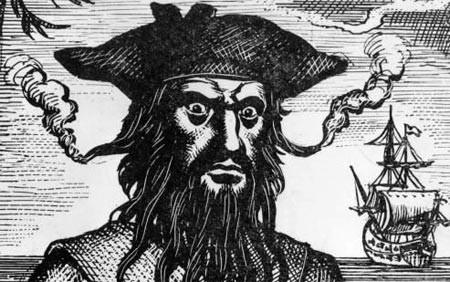 El fantasma del pirata Barbanegra