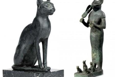 Bastet, la diosa gato de la mitología egipcia