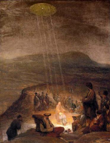 Bautismo de Cristo, de Aert de Gelder