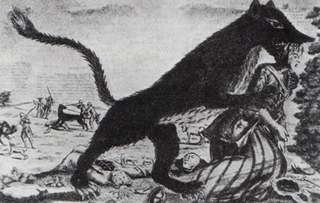 La temible bestia de Gévaudan