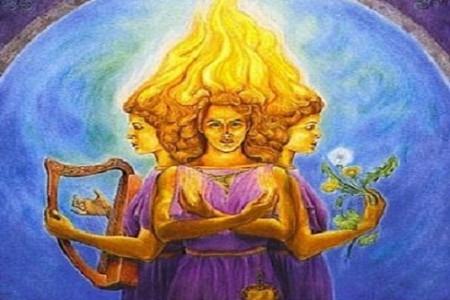 La diosa celta Brigid