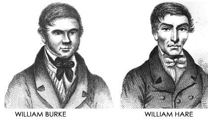 Burke y Hare, los vendedores de cuerpos