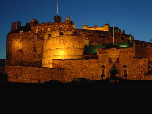 El Castillo de Edimburgo, fantasmas en Escocia