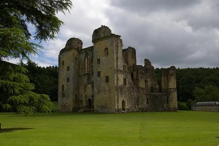 El fantasma del Castillo Old Wardour, Inglaterra