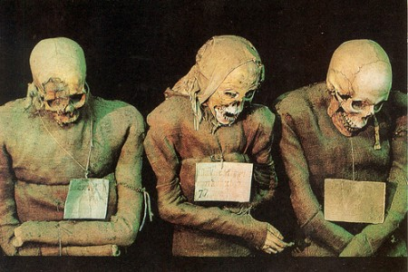 Las catacumbas de los monjes Capuchinos