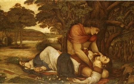 Céfalos y Procris, amor de mitología