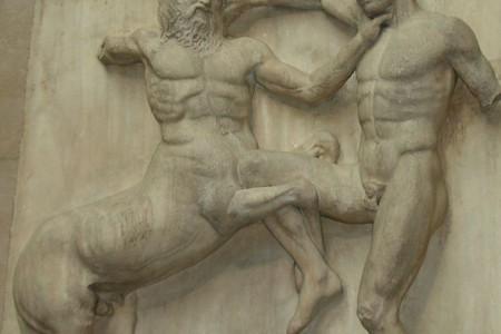 Los centauros, seres de doble naturaleza