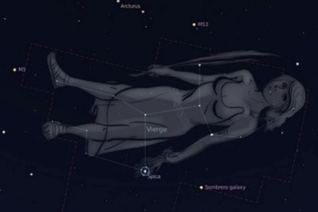 La constelación y el mito del signo de Virgo