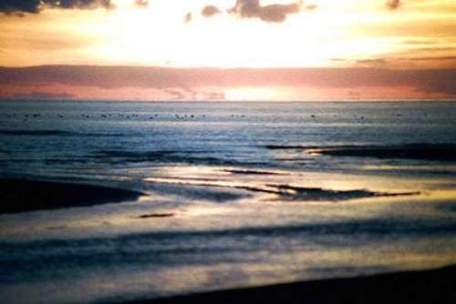 El mar en Solway Firth