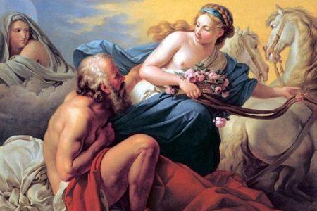 La historia de amor de Eos y Titonos