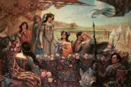 Lady Ginebra, la reina de Camelot